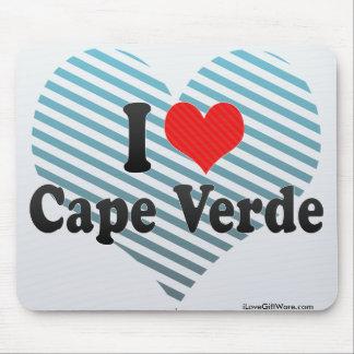 I Love Cape Verde Mouse Pad