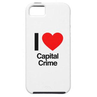 i love capital crime iPhone 5 covers