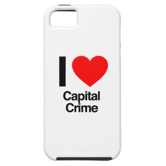 i love capital crime iPhone 5 cases