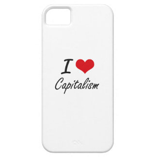 I love Capitalism Artistic Design Case For The iPhone 5