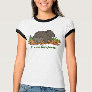 I Love Capybaras 2 T-Shirt