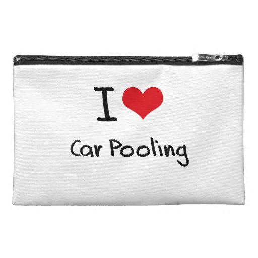 I love Car Pooling Travel Accessories Bags
