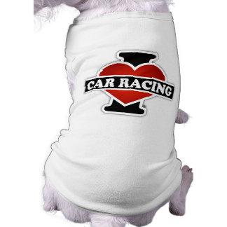 I Love Car Racing Shirt