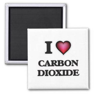 I love Carbon Dioxide Magnet
