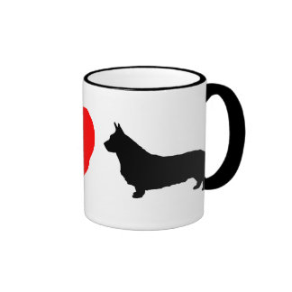 I Love Cardigan Welsh Corgis Mug