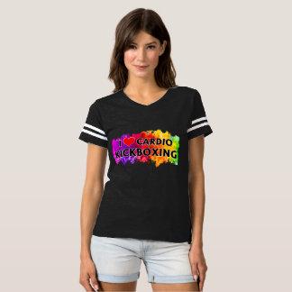 I Love Cardio Kickboxing Jersey T-Shirt
