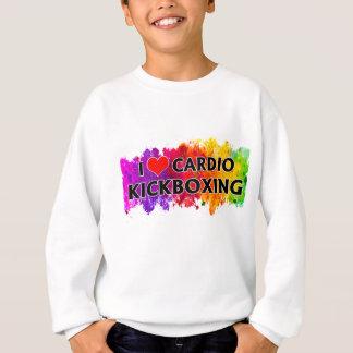 I Love Cardio Kickboxing Sweatshirt