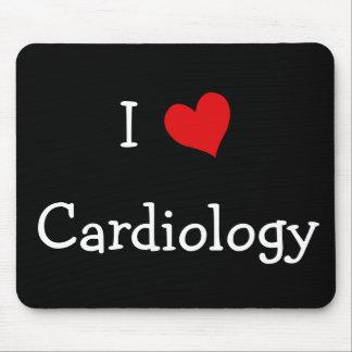 I Love Cardiology Mouse Pad