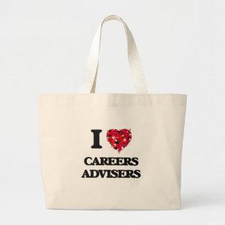 I love Careers Advisers Jumbo Tote Bag