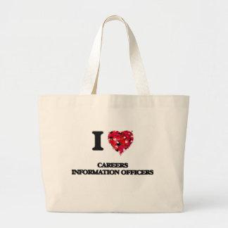 I love Careers Information Officers Jumbo Tote Bag
