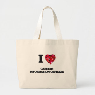 I love Careers Information Officers Jumbo Tote Bag