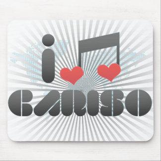 I Love Cariso Mouse Pad