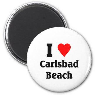 I love Carlsbad Beach Magnet