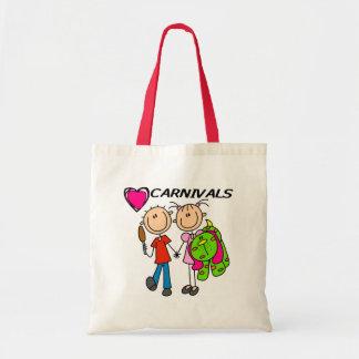 I Love Carnivals Tote Bag