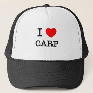 I Love Carp Trucker Hat