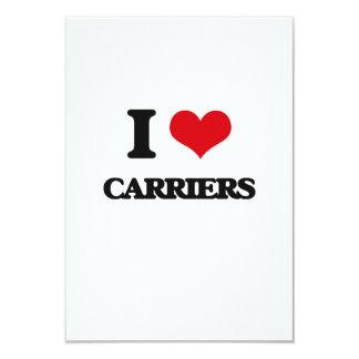 I love Carriers Custom Announcement Card