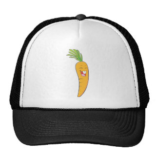 I Love Carrot - Smiling Carrot Mesh Hats