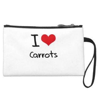 I love Carrots Wristlet