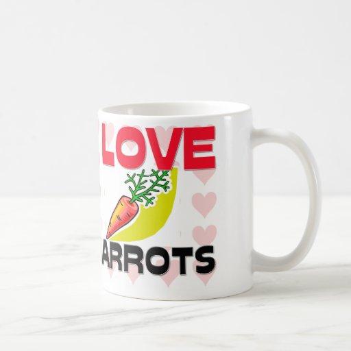 I Love Carrots Coffee Mug