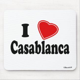 I Love Casablanca Mousepads