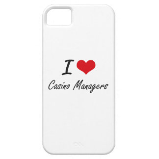 I love Casino Managers iPhone 5 Covers