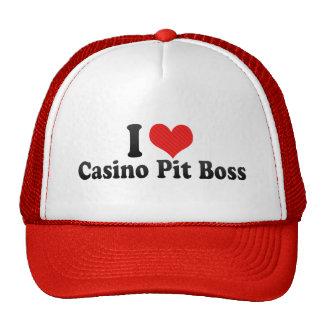 I Love Casino Pit Boss Cap