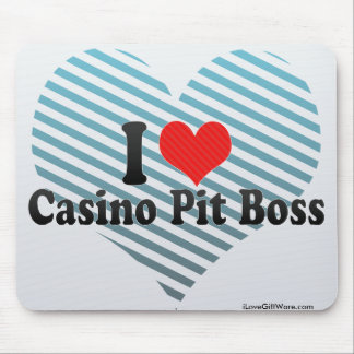 I Love Casino Pit Boss Mouse Pad