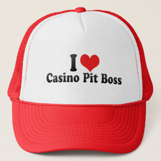 I Love Casino Pit Boss Trucker Hat