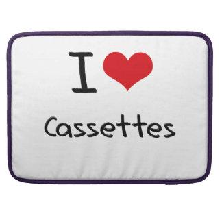 I love Cassettes Sleeve For MacBooks