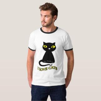 I LOVE CAT MEN'S T-SHIRT