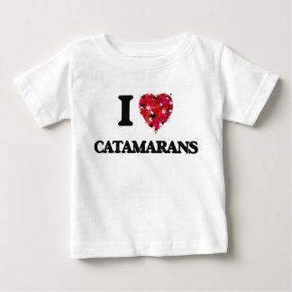 I love Catamarans T Shirt
