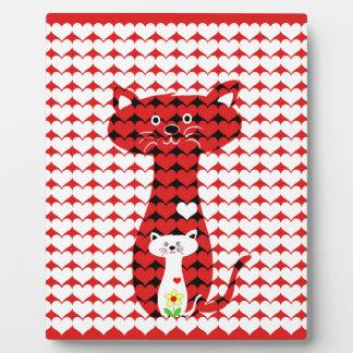 I Love Cats 2 Display Plaques