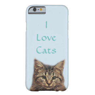 I Love Cats 6/6s IPhone Case