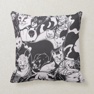 I love cats cushion