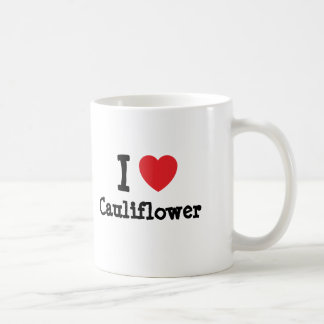 I love Cauliflower heart T-Shirt Mug
