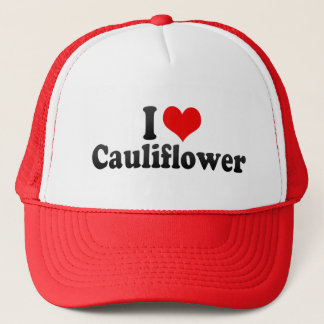 I Love Cauliflower Trucker Hat