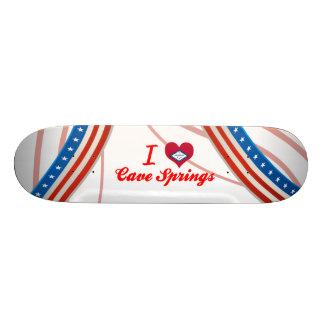 I Love Cave Springs, Arkansas Skate Board Decks
