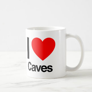 i love caves coffee mug