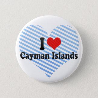 I Love Cayman Islands 6 Cm Round Badge