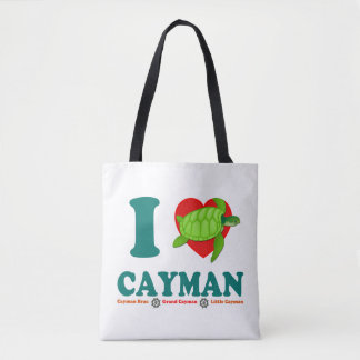 I Love Cayman Tote Bag