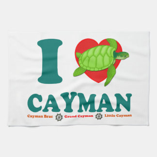 I Love Cayman Towel
