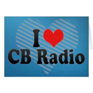 I Love CB Radio Card