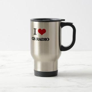 I Love Cb Radio Coffee Mugs