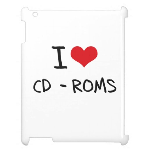 I love Cd-Roms Case For The iPad