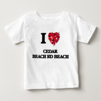 I love Cedar Beach Rd Beach Wisconsin Tshirt