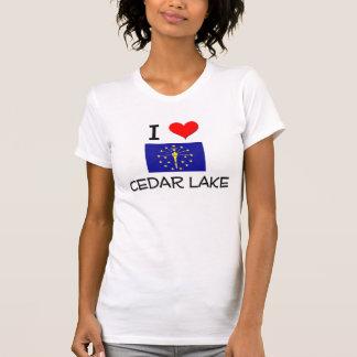 I Love CEDAR LAKE Indiana T Shirt
