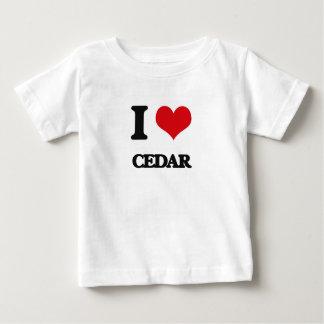 I love Cedar Tshirts