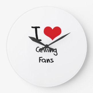 I love Ceiling Fans Clock