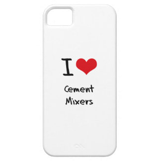I love Cement Mixers iPhone 5/5S Covers