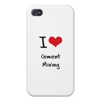 I love Cement Mixing iPhone 4 Case